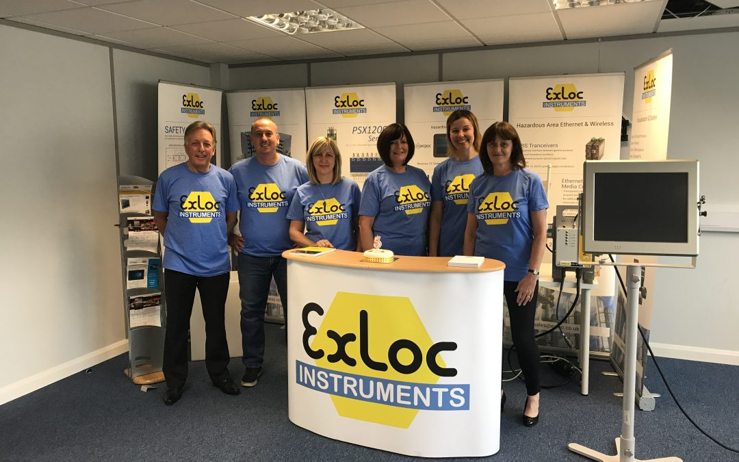 Exloc Instruments UK celebrate the first 5 Years