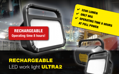 Rechargeable ATEX Work Light