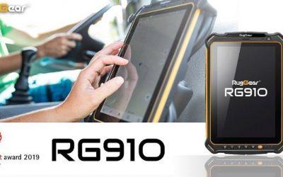 RG910 Rugged Tablet Awarded Red Dot Design Award