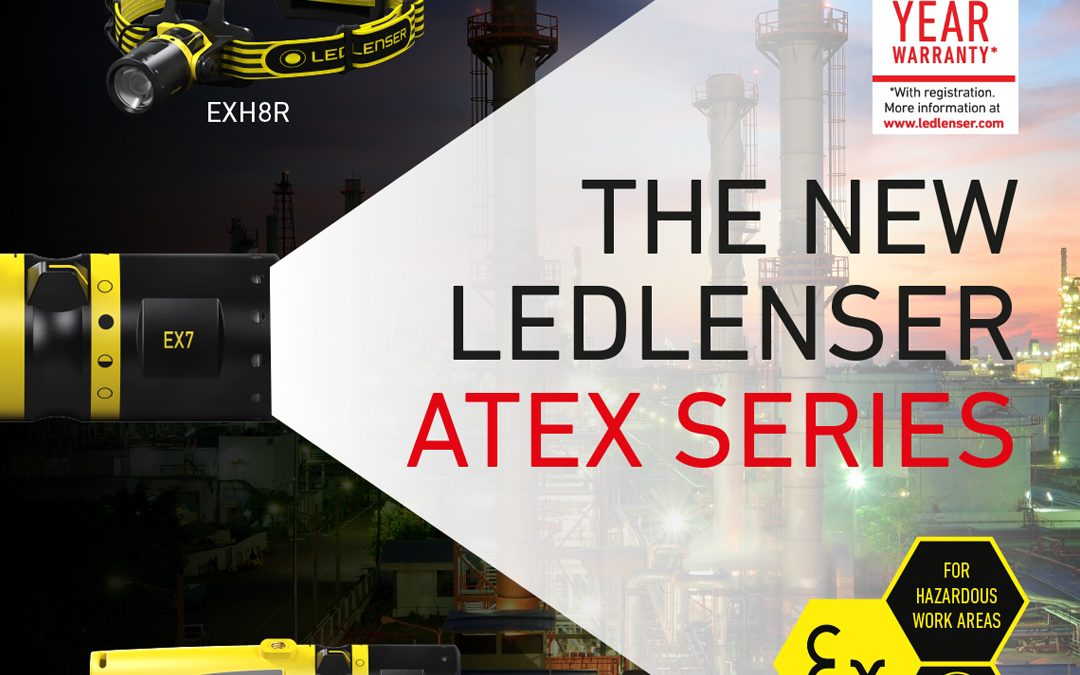 Exloc Introduces LED Lenser ATEX Torch Range