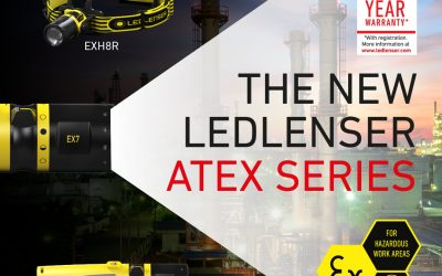 Exloc Introduces LED Lenser ATEX Torch Range