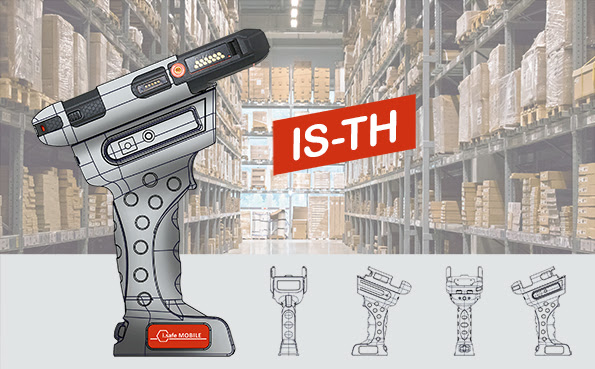The New IS530.1 with 1D/2D Barcode Reader & Trigger